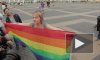 Геев скрутили на Дворцовой: ЛГБТ-провокацию в день ВДВ пресекли мгновенно