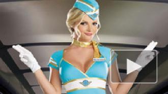 Танец стюардессы на борту самолета стал хитом Интернета