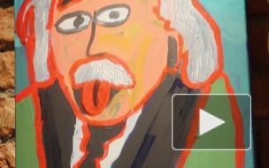 """В """"Артмузе"""" открылась особенная выставка – 9-летнего Лёни. Все картины мальчик с аутизмом нарисовал во время пандемии"""