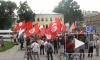 Митинг оппозиции на Пионерской площади собрал около ста человек