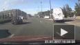 Появилось видео опасного ДТП на Московском проспекте