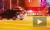 В Якутске ночью сгорел автомобиль: пугающее видео